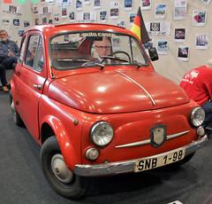 East german Fiat 500 (Schwanzus_Longus) Tags: bremen classic motorshow german germany italy italian old vintage car vehicle micro compact fiat 500n 500 n