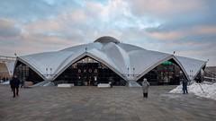 (ilConte) Tags: moscow mosca russia russian architettura architecture architektur danilovskymarket sovmod sovietmodernism felixnovikov