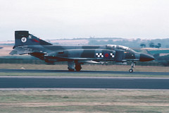 F4Phantom XV575RAF- RAF Leuchars 1982 (robert_pittuck) Tags: f4phantom xv575raf raf leuchars 1982