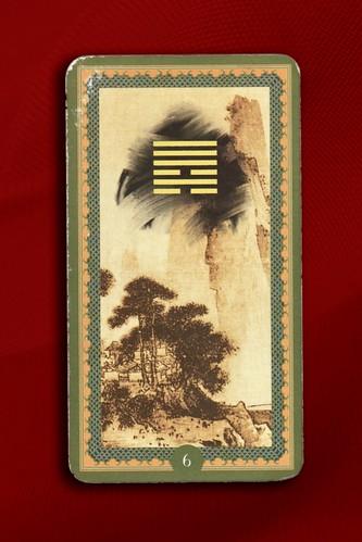 I Ching esagramma 6 - Sung - La lite - Cielo su Acqua