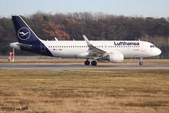 Airbus A320 -214 LUFTHANSA D-AIWH 8911 Francfort décembre 2019 (Thibaud.S.) Tags: airbus a320 214 lufthansa daiwh 8911 francfort décembre 2019