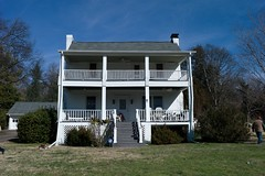 Front of Pettway home. Supposedly, it was pre-Civil War. (Backwash Bob) Tags: estate civilwar antiques