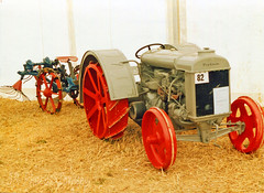 Irish Fordson Tractor & Potato Spinner (SR Photos Torksey) Tags: vintage veteran tractor agriculture farm machinery great dorset steam fair rally show fordson