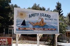"Amity Island ""Jaws"" set - Universal Studios Hollywood Studio Tour 1980 (robert_pittuck) Tags: amity island jaws set universal studios hollywood studio tour 1980"