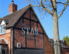 English Pub Sign - The Star at Penkridge (big_jeff_leo) Tags: building oldbuilding england architecture historic staffordshire pub publichouse