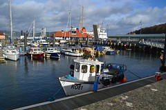 (Zak355) Tags: rothesay isleofbute bute scotland scottish harbour fishingboats