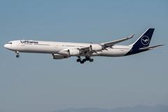 Lufthansa / A346 / D-AIHI / KLAX 24R (_Wouter Cooremans) Tags: lax losangelesinternationalairport losangeles spotting spotter avgeek aviation airplanespotting lufthansa a346 daihi klax 24r a340