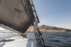 Le Nil (Siden) Tags: bateau egypte fleuve nil paysage transport