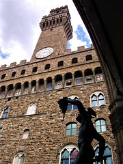 Perseus with the Head of Medusa in front of Palazzo Vecchio in Florence (pisces2386) Tags: old travel sculpture monument sightseeing palace medieval tuscany piazza palazzo medusa mythology renaissance perseus signoria city urban tourism statue square town view symbol culture center tourist cellini vecchio loggia lanzi italy building art history architecture bronze italian europe famous landmark historic historical firenze della dei benvenuto florence ancient head