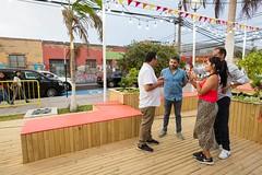 Primera Plaza de Bolsillo (muniarica) Tags: arica chile muniarica municipalidad ima alcalde gerardoespíndola kpop plazadebolsillo explanada pedroarielolea