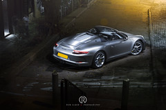 Porsche 911 (991) Speedster (Ron Alder W Photography) Tags: porsche supercar supercars 911 991 porsche911 speedster luxury hongkong street streetshot star stair silver convertible spyder roadster hong kong
