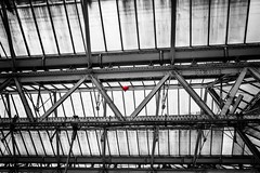 I lost my heart in Waterloo station (Chris Moos) Tags: london heart waterloo balloon red station
