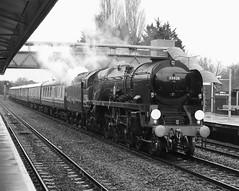 Feb 15 2020 35028 1Z82 princes risborough (jon L1049H) Tags: train 35028 clan line steamengine