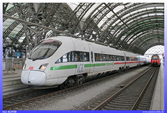 "ICE 411 584 ""Kaiserslautern"" DB AG (uslovig) Tags: inter city express ice kaiserslautern db ag deutsche bahn 411 584 zug train eisenbahn railroad railway dresden sachsen saxonia deutschland germany"