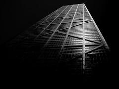 Water Tower Place (azhukau) Tags: architecture blackandwhite buildingexterior builtstructure chicago city monochrome skyscraper watertowerplace