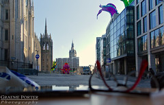 Broad Street - IMG_4686 - Edited (406highlander) Tags: canonpowershotg1xmkii powershotg1xmkii powershot g1x aberdeen scotland tentacle inflatable art colour marischalsquare broadstreet city urban marischalcollege upperkirkgate street road glasses spectacles refraction varifocals eyewear spectra festivaloflight canon