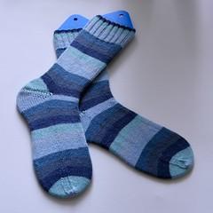 Whale Song Socks (Varant) Tags: socks knitting knitpicks felici