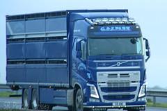 Volvo FH G&J Park Livestock G6 EWE (SR Photos Torksey) Tags: transport truck haulage hgv lorry lgv logistics road commercial vehicle freight traffic volvo fh livestock park