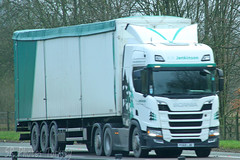 Scania AW Jenkinson (SR Photos Torksey) Tags: transport truck haulage hgv lorry lgv logistics road commercial vehicle freight traffic scania jenkinson