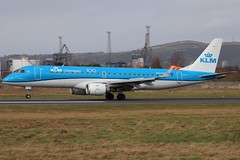 KLM Cityhopper PH-EZU BHD 16/02/20 (ethana23) Tags: planes planespotting aviation avgeek aircraft aeroplane airplane klm cityhopper embraer e190 190