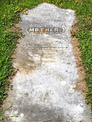 A mother's grave (kevin dooley) Tags: mother grave
