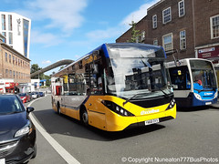YW68OVX Johnsons in Coventry (Nuneaton777 Bus Photos) Tags: johnsons adl enviro 200mmc yw68ovx coventry