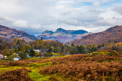 The beautiful village of Elderwater nestles in the valley (Geordie_Snapper) Tags: autumn canon5d4 canon2470mm elderwater lakedistrict landscape november