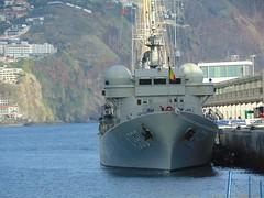 A960 BNS Godetia Dec 2019 Funchal Front view (Simon Dodds) Tags: a960 bns godetia funchal harbour dec 2019 belgium navy