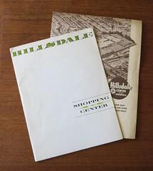 (hmdavid) Tags: hillsdale shopping center sanmateo california 1950s 1960s advertising brochure marketing