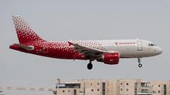 Rossiya A319, VP-BIT, TLV (LLBG Spotter) Tags: aircraft a319 tlv airline rossiya vpbit llbg