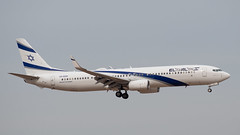 El Al B739, 4X-EHH, TLV (LLBG Spotter) Tags: elal aircraft tlv b737 airline 4xehh llbg