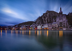 Dinant (AndyGo_a) Tags: cityscape river meuse dawn