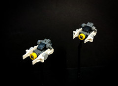 Meteor-T7 Light Bombers (micahdabro) Tags: lego starwars space spaceship scifi starfighter