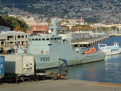 P590 NRP Tejo Dec 2019 Funchal Portugal Navy (Simon Dodds) Tags: p590 nrp tejo funchal harbour dec 2019