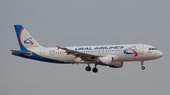Ural Airlines A320, VP-BIE, TLV (LLBG Spotter) Tags: aircraft a320 tlv airline vpbie uralairlines llbg