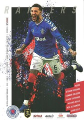 Rangers v Livingston 20200216 (tcbuzz) Tags: rangers football club ibrox stadium glasgow scotland spfl premiership programme