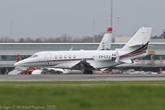 CS-LTJ - 2018 build Cessna 680A Latitude, arriving on Runway 23R at Manchester (egcc) Tags: 680a0165 bizjet csltj ce680a cessna cessna680a citationlatitude egcc latitude lightroom man manchester nje netjets netjetseurope ringway