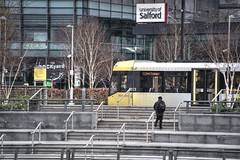 Photo of Tram stop at Salford Quays, Manchester