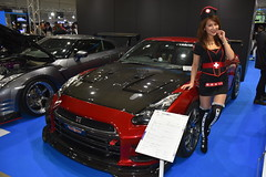 Tokyo Auto Salon 2020 (ジェローム) Tags: tokyoautosalon chiba japan japanese girl woman asia asian racequeen car