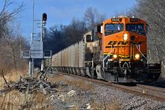 Hannibal Sub action. (Shane692) Tags: bnsf burligrton bn ge railroad railfanning railroads railfans rails rail row railroading railfan american america nikon