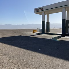 (badtweetgirl) Tags: middleeast jordan station landscape outside exterior empty peaceful calm minimal gas shape minimalist linear colour contrast horizon shade