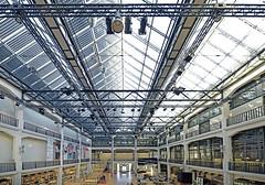 zkm-karlsruhe-zentrum-fuer-kunst-und -medien (elmar theurer) Tags: zkm karlsruhe zentrum für kunst und medien architecture architektur artwork art abstract panorama superweitwinkel weitwinkel