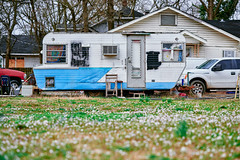 Southern Comfort (Dysfunctional Photographer) Tags: southern south trailer mobile airconditioner vehicles trucks yard grass pinebluff arkansas 2020 usa nikon z7 nef raw captureone