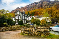 Old Climbers Hotel at Dungeon Ghyll (Geordie_Snapper) Tags: autumn canon5d4 canon2470mm dungeonghyll greatlangdale lakedistrict landscape november