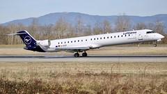 D-ACNT (Breitling Jet Team) Tags: dacnt lufthansa cityline bombardier crj900lr euroairport bsl mlh basel flughafen lfsb eap