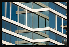 X's and lines (Ilan Shacham) Tags: abstract architecture reflection shape form geometry line x fineart fineartphotography building israel telaviv