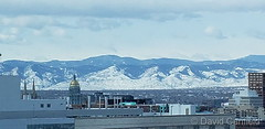 February 12, 2020 - The Colorado state capitol from downtown. (David Canfield)
