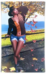 Sensations (Angel de Paz) Tags: style mm mode outfit woman sl fashion clothes