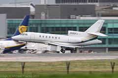 N152FJ - 1984 build Dassault Falcon 50, arriving on Runway 23R at Manchester (egcc) Tags: 152 bizjet dassault egcc falcon falcon50 lightroom man manchester n137fj n152fj n1841f n75w n75we ringway victoryoutreachlapuente
