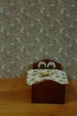 47 - 366 eye-dle (horsesqueezing) Tags: googlyeyes bed tea jaffacakes 366